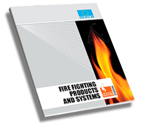 The SDM Antincendio catalogue with fire fighting products and systems