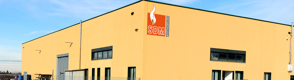 SDM Antincendio - Mobile Projects Page